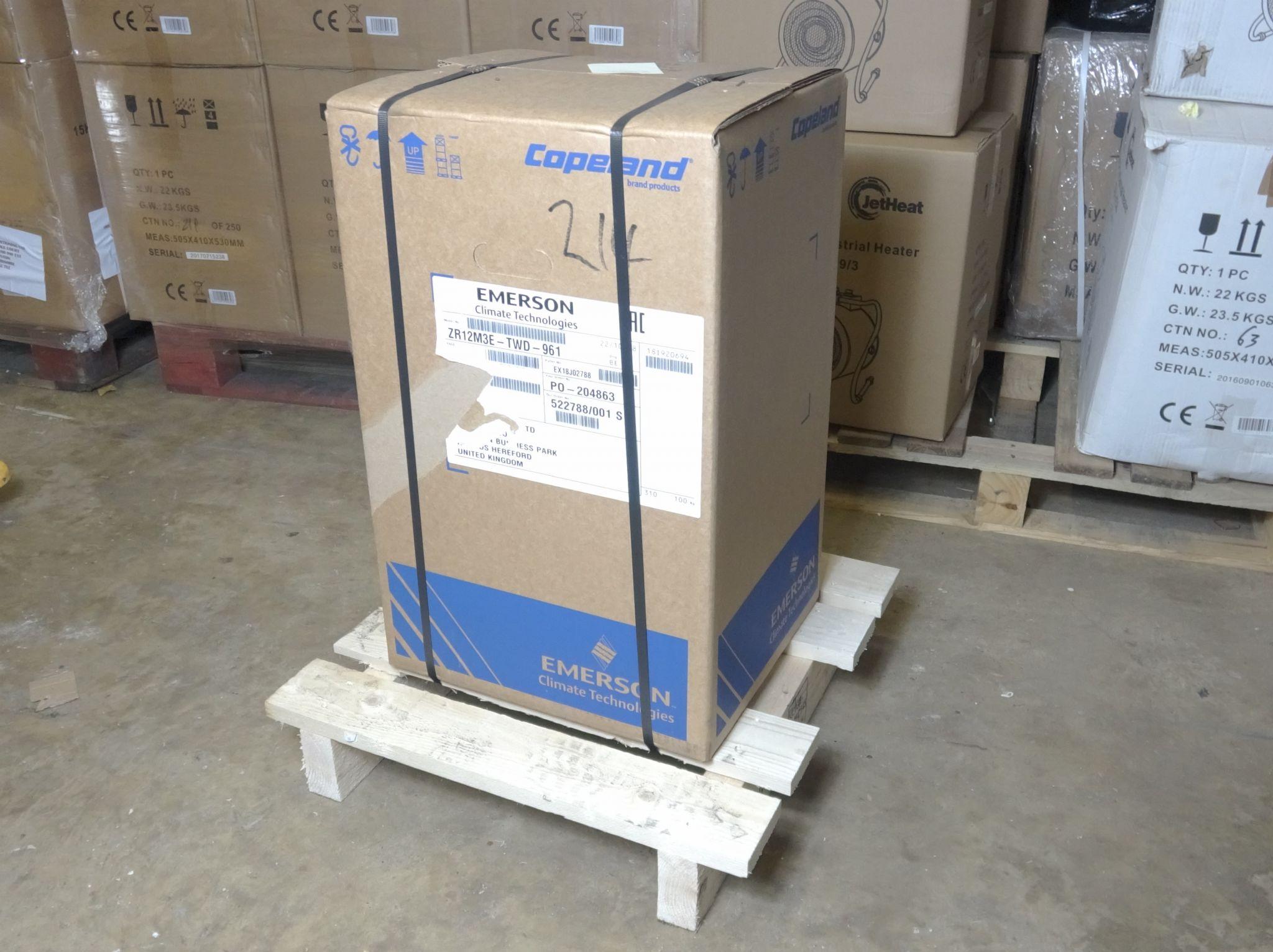 Copeland 2067214 ZR12 Scroll Compressor 415V 50Hz